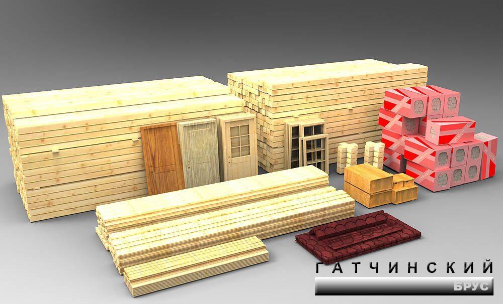 Комплект для постройки дома